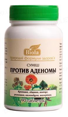 Смесь Биола Против аденомы таблетки №90