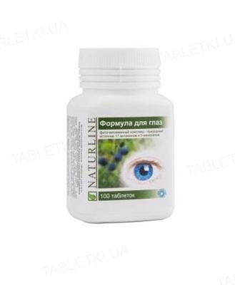 Формула для глаз Биола фито-витаминный комплекс таблетки №100