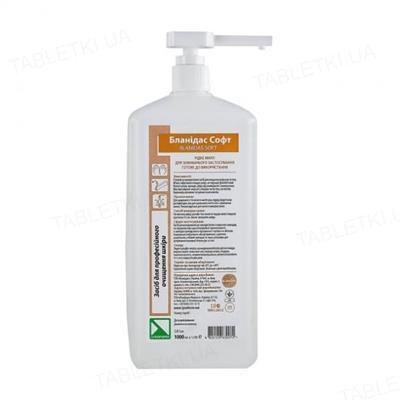 Бланидас Софт мыло жидкое для дезинфекции рук по 1000 мл во флак. с дозат.