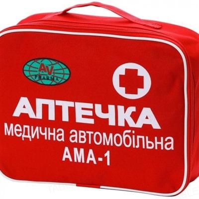 Аптечка медицинская автомобильная АМА 1