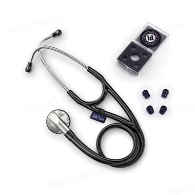 Стетоскоп Little Doctor LD Cardio Black кардіологічний з односторонньою головкою