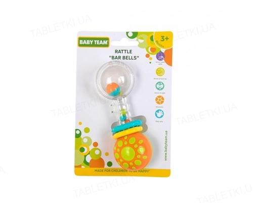 Іграшка-брязкальце Baby Team Гантелька 8443