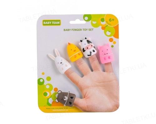Набор игрушек на пальцы Baby Team 8700 Весёлая детвора