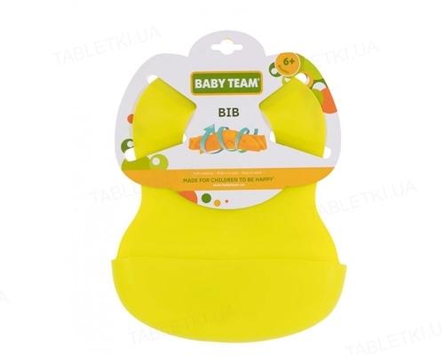 Нагрудник Baby team 6500 гумовий від 6 місяців