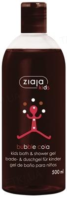 Пена-гель для ванны и душа Ziaja Kids Пузырьки колы, 500 мл