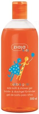 Пена-гель для ванны и душа Ziaja Kids Жевательная резинка, 500 мл