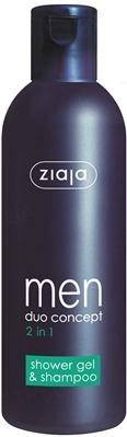 Гель-шампунь для душа Ziaja Men 2 в 1, 300 мл