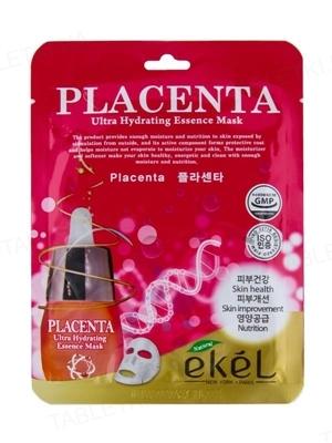 Маска тканевая для лица Ekel с плацентой С, 25 мл