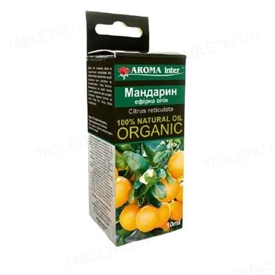 Масло эфирное Aroma Inter мандарин, 10 мл