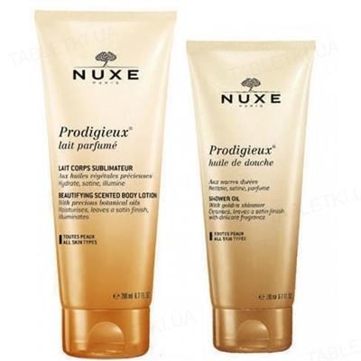 Набор Nuxe (Молочко Замечательное для тела 200 мл + Масло Замечательное для душа 100 мл в Подарок)