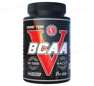 Аминокислота Vansiton BCAA, 300 капсул