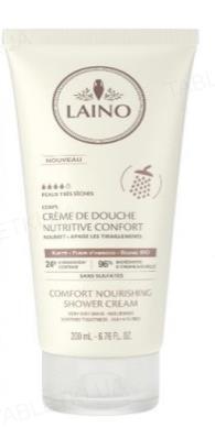Крем для душа Laino Comfort питательный для сухой и чувствительной кожи лица и тела, 200 мл