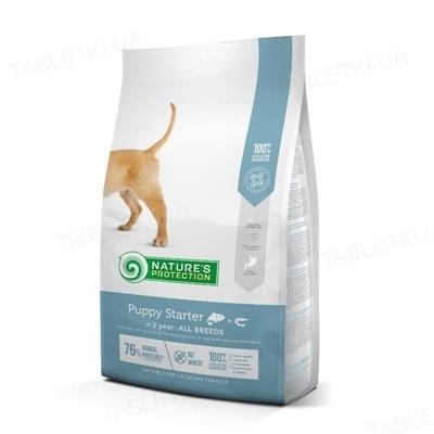 Корм сухой Nature's Protection Puppy starter All breeds для щенков всех пород с ягненком, 2 кг