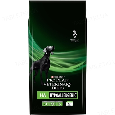 Корм сухой Purina Pro Plan Veterinary Diets HA гипоаллергенный для щенков и взрослых собак, 1,3 кг