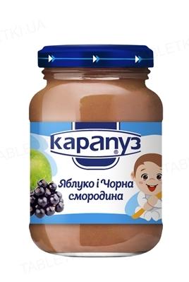 Фруктовое пюре Карапуз Яблоко и Черная смородина, 200 г