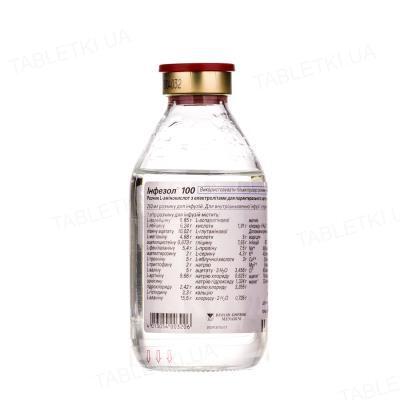 Инфезол 100 раствор д/инф. по 250 мл №10 во флак.