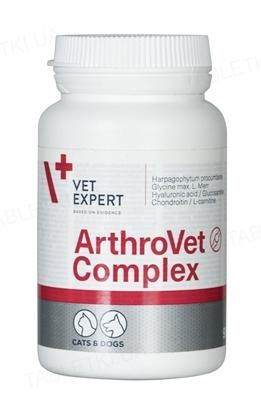 Артровет Комплекс (Arthrovet HA Complex) (ДЛЯ ЖИВОТНЫХ) для профилактики и лечения нарушений функции суставных хрящей и суставов, 90 таблеток