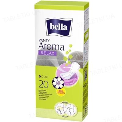 Прокладки гигиенические ежедневные Bella Panty Aroma Relax, 20 штук