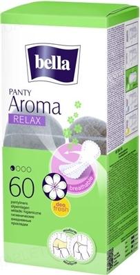 Прокладки гигиенические ежедневные Bella Panty Aroma Relax, 60 штук