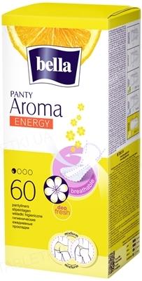 Прокладки гигиенические ежедневные Bella Panty Aroma Energy, 60 штук