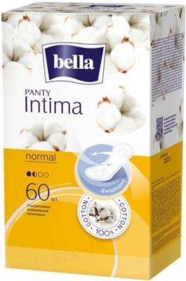 Прокладки гигиенические ежедневные Bella Panty Intima Normal, 60 штук