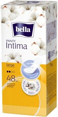 Прокладки гигиенические ежедневные Bella Panty Intima Large, 48 штук