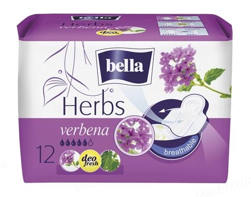 Прокладки гигиенические Bella Herbs verbena, 12 штук