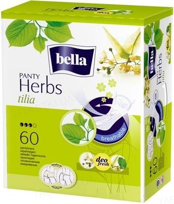 Прокладки гигиенические ежедневные Bella Panty Herbs tilia normal, 60 штук