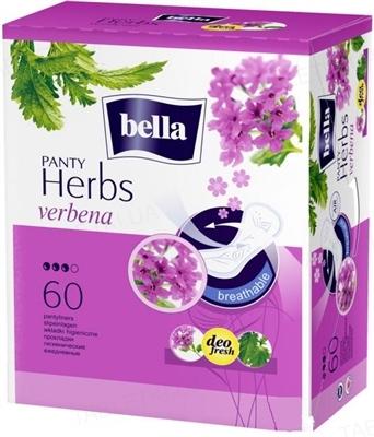 Прокладки гигиенические ежедневные Bella Panty Herbs verbena normal, 60 штук
