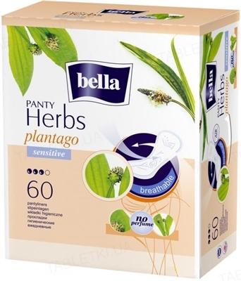 Прокладки гигиенические ежедневные Bella Panty Herbs plantago normal, 60 штук