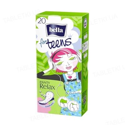 Прокладки гигиенические ежедневные Bella Panty for Teens Relax, 20 штук