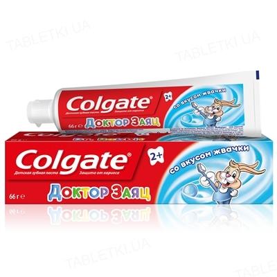 Зубная паста Colgate Доктор Заяц, со вкусом жвачки, 50 мл