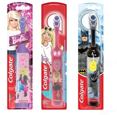 Электрическая зубная щетка Colgate Barbie/Batman, детская