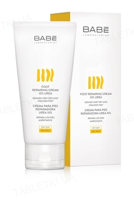 Крем для ног Babe Laboratorios Body с 10% мочевины, 100 мл