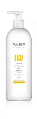 Мыло Babe Laboratorios Body на основе масел (формула без воды и щелочи) для сухой и атопической кожи, 500 мл