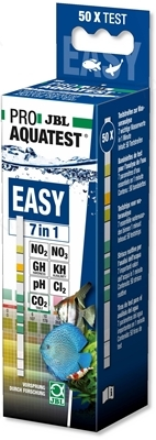 Тест-полоски JBL Proaquatest Easy 7in1 для быстрого анализа аквариумной воды