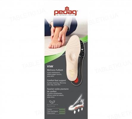 Стелька-супинатор Pedag Viva 187 каркасная для закрытой обуви, размер 38