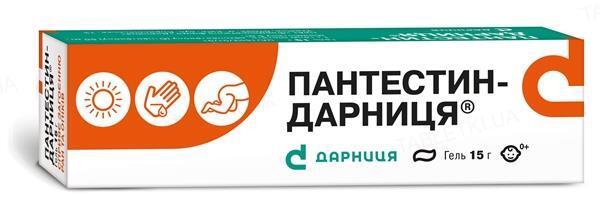 Пантестин-Дарниця гель по 15 г у тубах