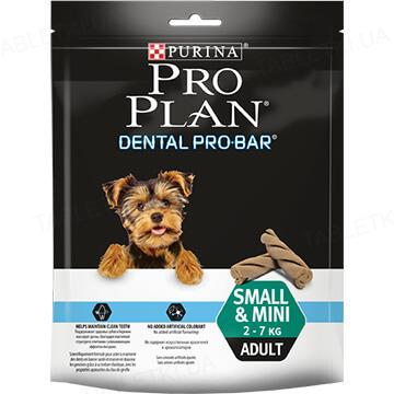 Лакомство для собак Purina 287357 Dental Pro-Bar от 2 до 7 кг, 150 г