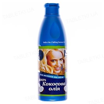 Масло Кокосовое Parachute Coconut Oil для волос и тела 100%, 200 мл