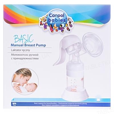 Молокоотсос ручной Canpol Babies Basic 12/205