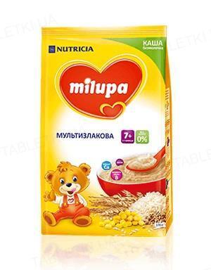 Безмолочная каша Milupa мультизлаковая для детей с 7 месяцев, 170 г