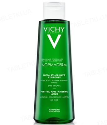 Тоник для лица Vichy Normaderm тройного действия, сужает поры, 200 мл
