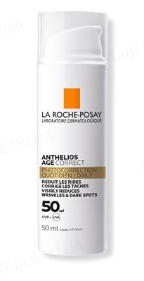 Средство солнцезащитное La Roche-Posay Anthelios Age Correct против морщин и пигментации SPF50 для чувствительной кожи, 50 мл