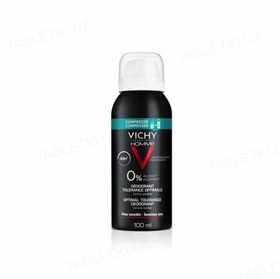 Дезодорант Vichy Homme 48 часов оптимальный комфорт чувствительной кожи, 100 мл