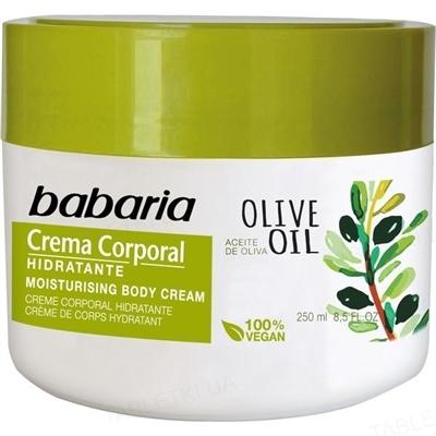 Крем для тела Babaria масло Оливы увлажняющий, 250 мл