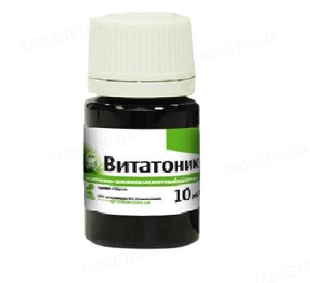 Витатоник (ДЛЯ ЖИВОТНЫХ) раствор для перорального применения, 10 мл