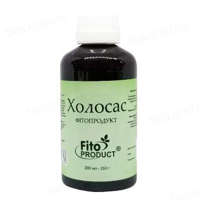Холосас Фитопродукт сироп по 200 мл (250 г) во флак.