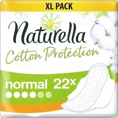 Прокладки гигиенические Naturella Cotton Protection Ultra Normal, 4 капли, 22 штуки