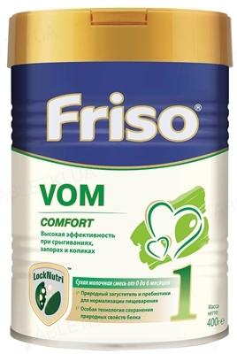 Смесь детская молочная Friso Vom 1 с пребиотиками от 0 до 6 месяцев, 400 г